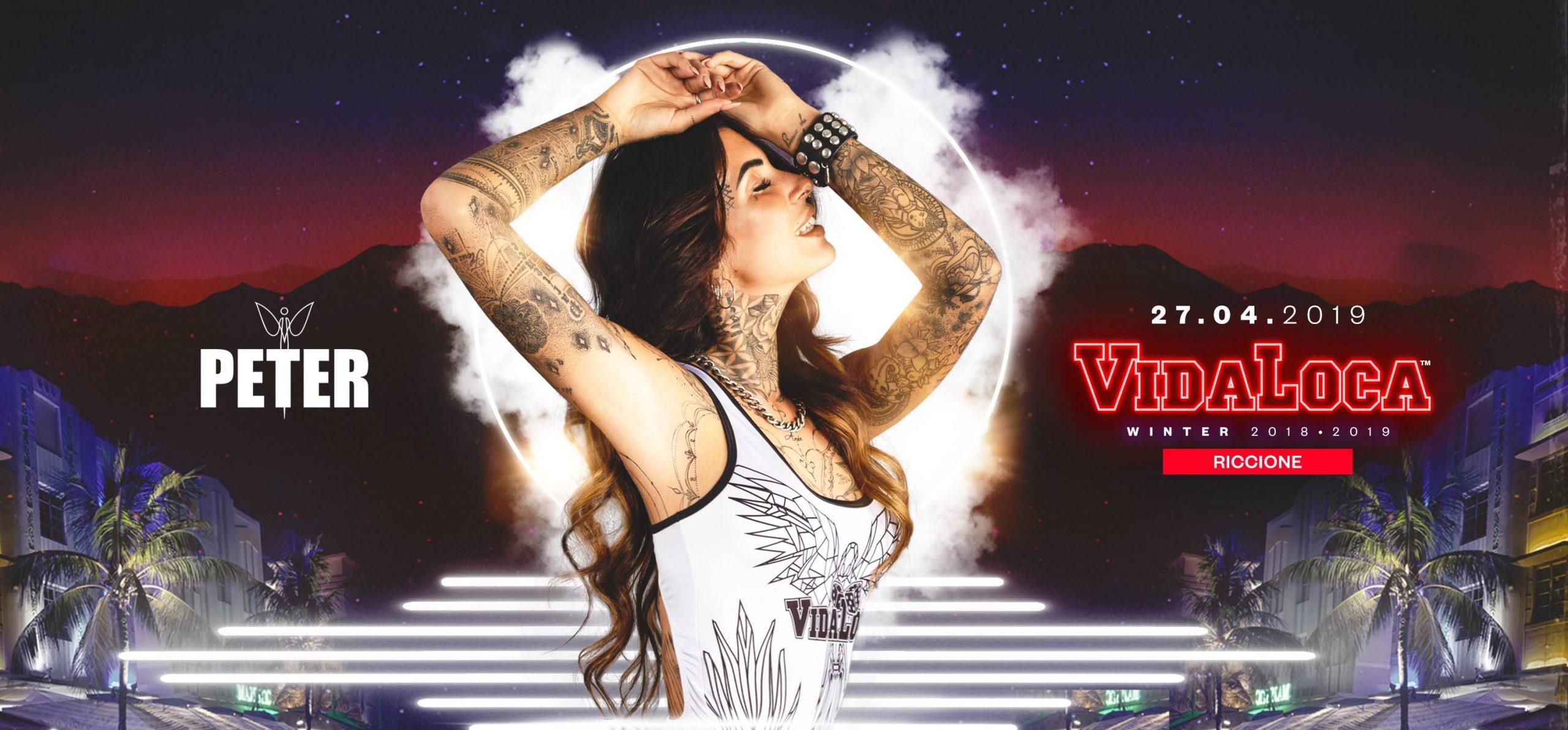 vida loca peter pan 27 aprile 2019 ticket pacchetti