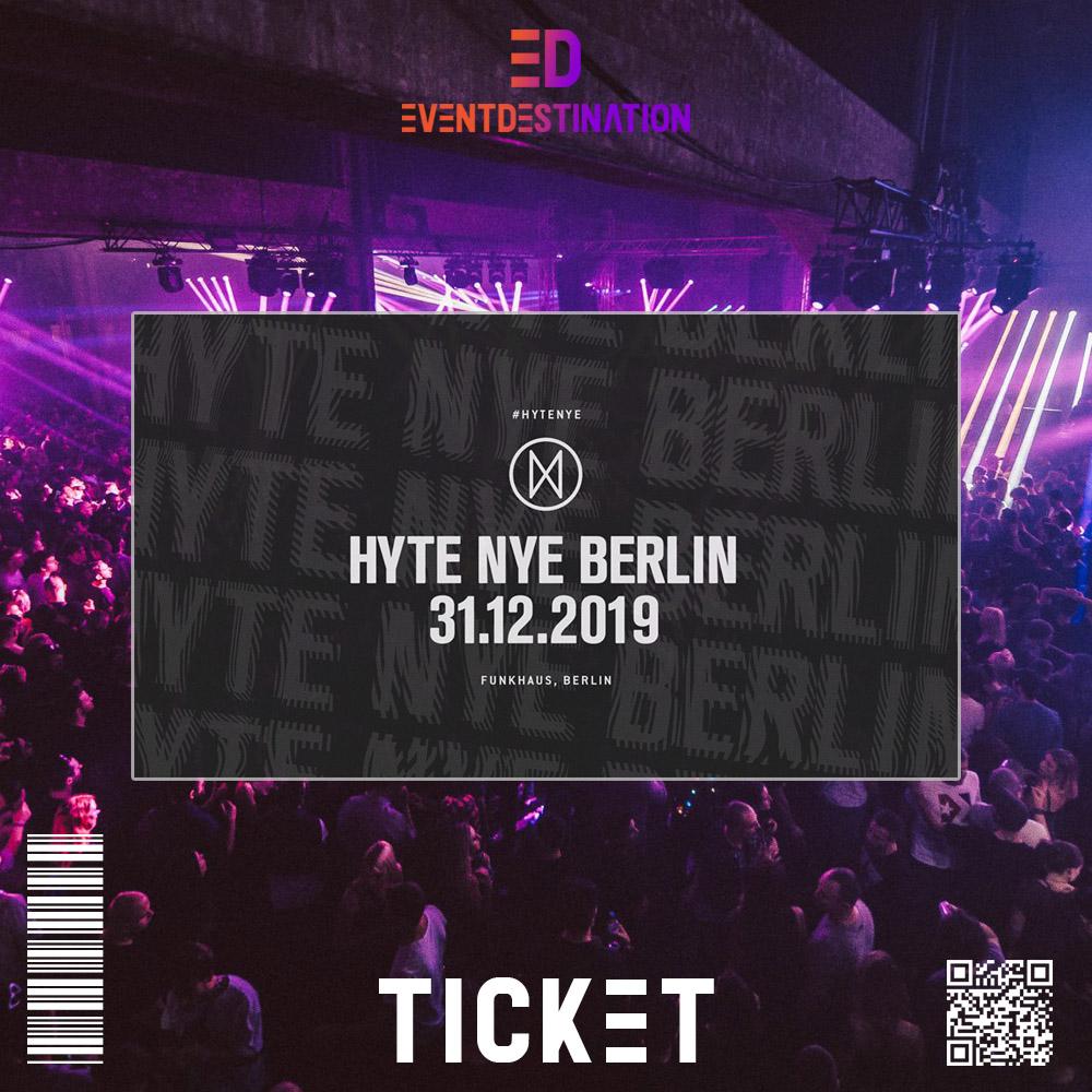 Ticket HYTE BERLIN NYE 2019 2020