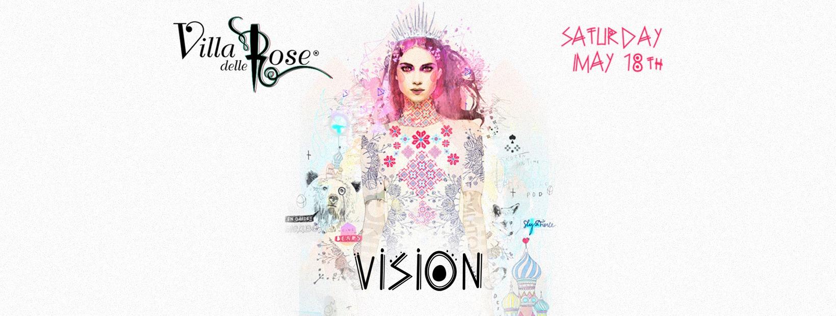Villa Delle Rose – Sabato 18 Maggio 2019 – Ticket Biglietti 18app Tavoli Pacchetti Hotel