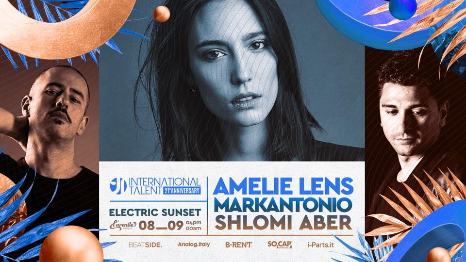 Amelie Lens at Arenile di Bagnoli – 08 Settembre 2019 International Talent – Ticket Biglietti 18App Tavoli e Pacchetti Hotel