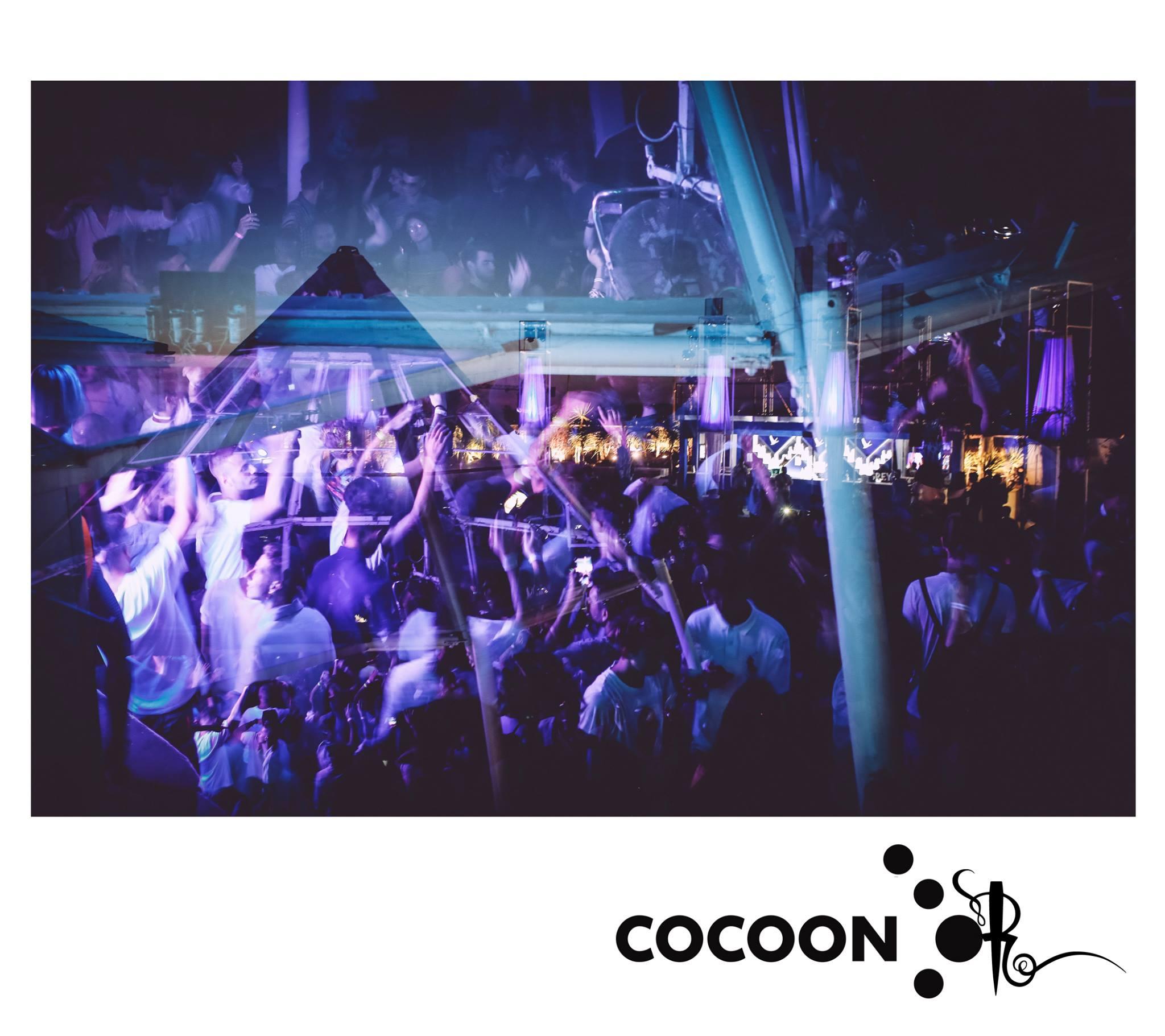 Cocoon Opening Party Villa Delle Rose – Mercoledì 10 Luglio 2019 – Ticket -Biglietti 18app – Pacchetti Hotel