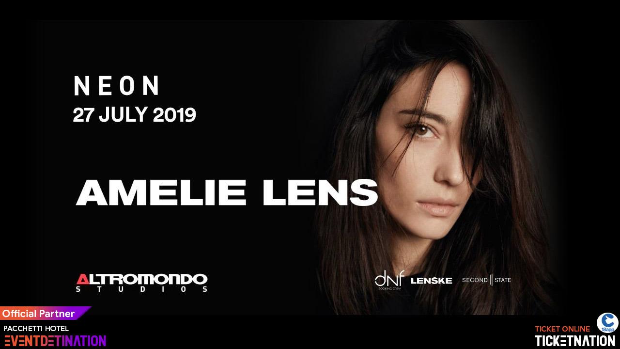 Amelie Lens Altromondo Studios Rimini – Sabato 27 Luglio 2019 – Ticket – Biglietti 18app – Tavoli e  Pacchetti Hotel