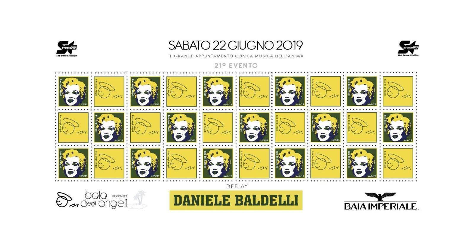 Baia degli Angeli at Baia Imperiale – Sabato 22 Giugno 2019 – Ticket-Biglietti 18app – Tavoli – Pacchetti Hotel