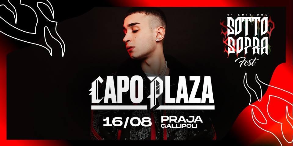 Praja Gallipoli – Capo Plaza – Venerdì 16 Agosto – Ticket e Pacchetti Hotel
