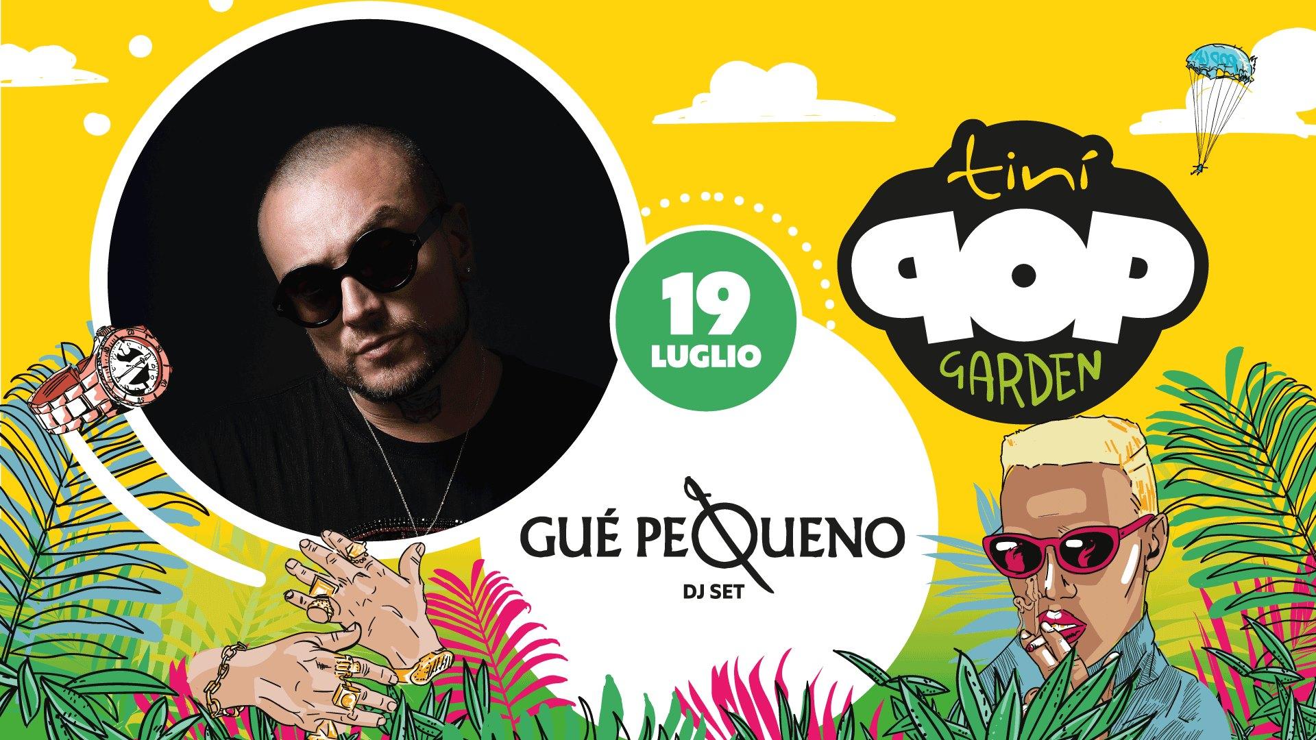 """Guè Pequeno – Tini SoundGarden Cecina """"Pop Garden"""" – Venerdì 19 Luglio 2019 – Ticket e Pacchetti Hotel"""