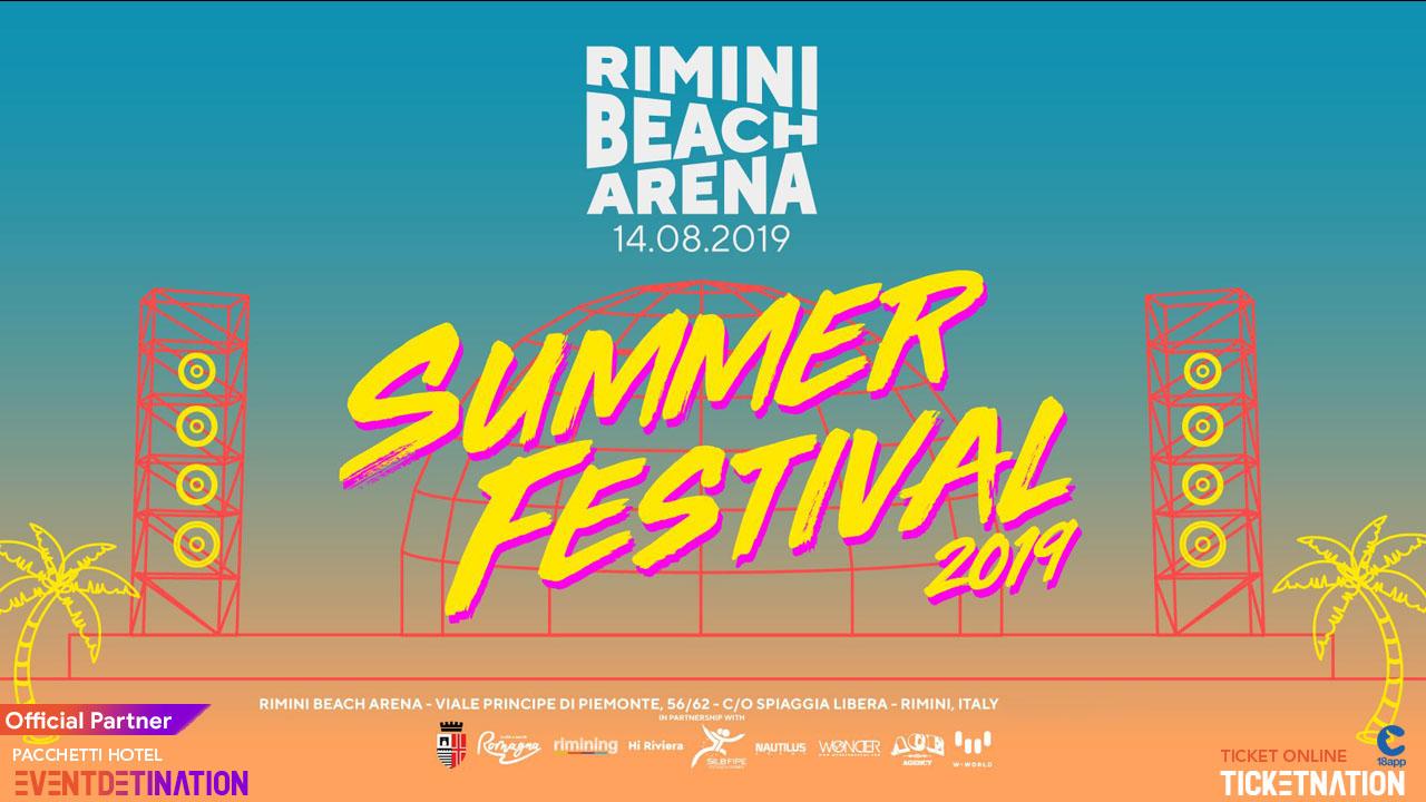 DON DIABLO GIGI D'AGOSTINO Rimini Beach Arena – 14 Agosto 2019 – Ticket – Biglietti 18app – Pacchetti Hotel