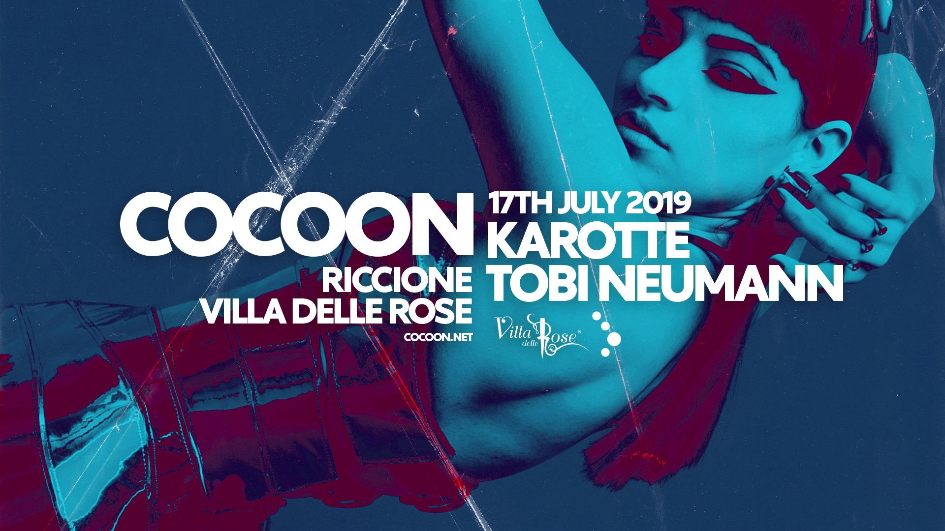 Cocoon Villa Delle Rose – Mercoledì 17 Luglio 2019 – KAROTTE – Ticket -Biglietti 18app – Pacchetti Hotel
