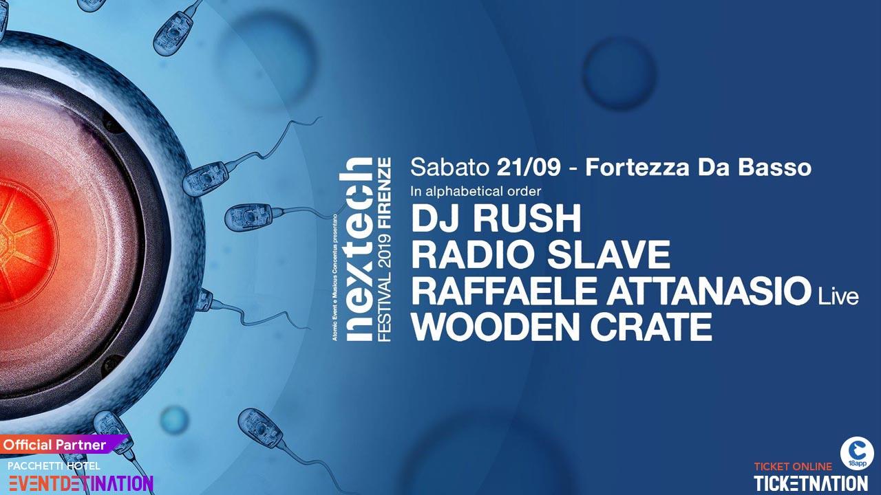 Nextech Festival Fortezza da Basso Firenze  – Sabato 21 Settembre 2019 – Ticket e Pacchetti Hotel