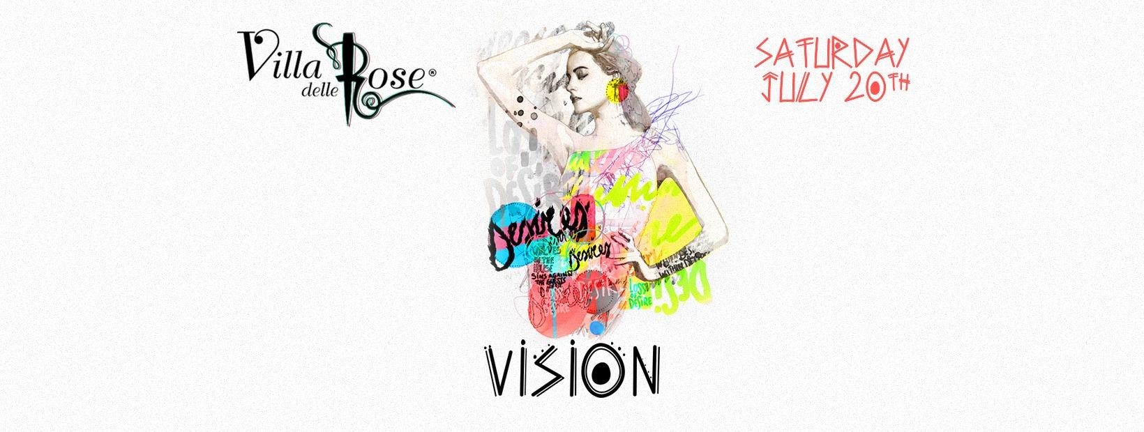 Villa Delle Rose – Sabato 20 Luglio 2019 – Ticket -Biglietti 18app – Pacchetti Hotel
