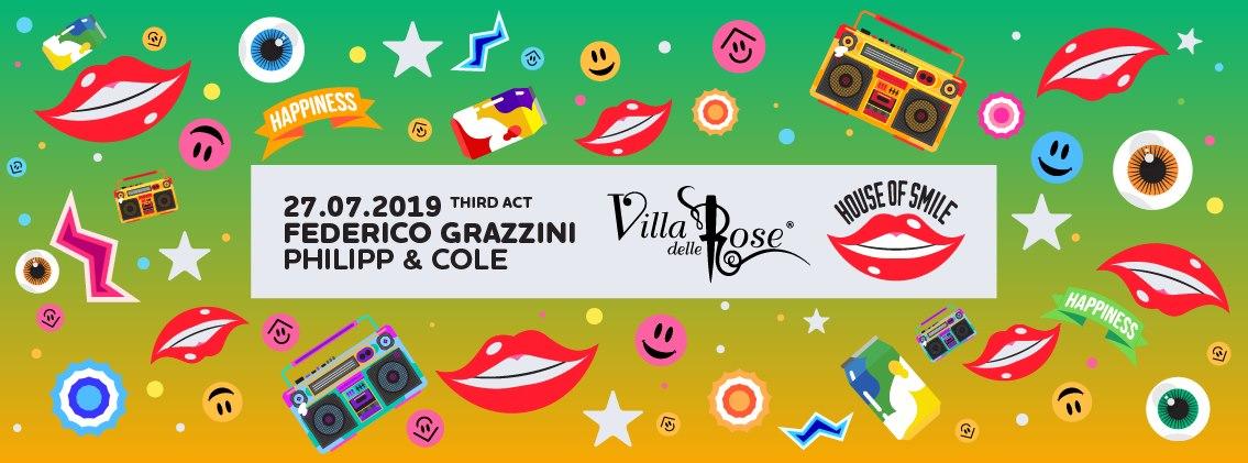 Villa Delle Rose – Sabato 27 Luglio 2019 – Ticket -Biglietti 18app – Pacchetti Hotel