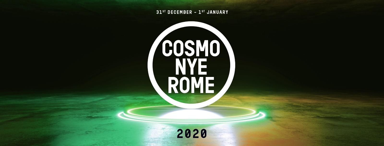 Cosmo Roma Festival NYE – Capodanno 2020 Roma – Ticket & Pacchetti Hotel