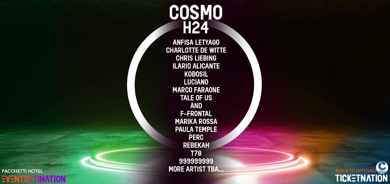 cosmo festival + fuoriorario 24 ore