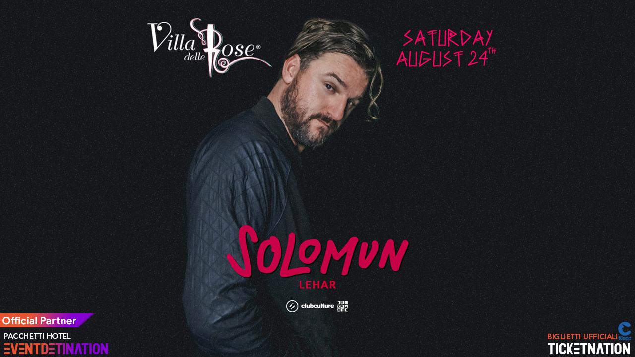 Villa Delle Rose Solomun Sabato 24 Agosto 2019 – Ticket – Biglietti 18app – Pacchetti Hotel