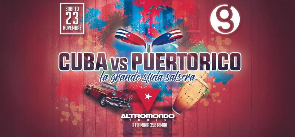Cuba VS Puertorico Altromondo Studios Rimini Sabato 23 11 2019 Ticket – Biglietti 18app – Tavoli e  Pacchetti Hotel
