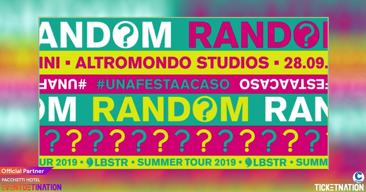Random Party Altromondo Studios Rimini Sabato 28 09 2019 Ticket – Biglietti 18app – Tavoli e  Pacchetti Hotel