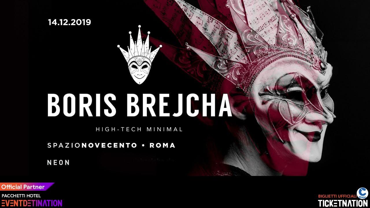 Boris Brejcha Spazio Novecento Roma – Sabato 14 12 2019 – Ticket Biglietti 18App Tavoli e Pacchetti Hotel