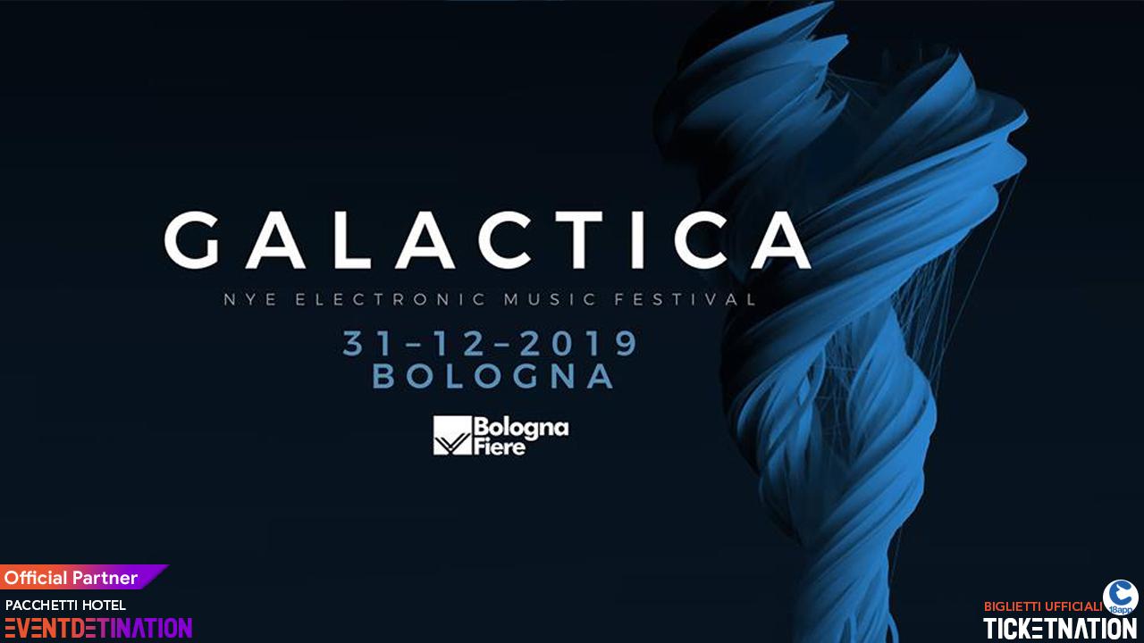 Galactica Festival 2019 2020 Bologna Fiere 31 Dicembre – Ticket e Pacchetti Hotel