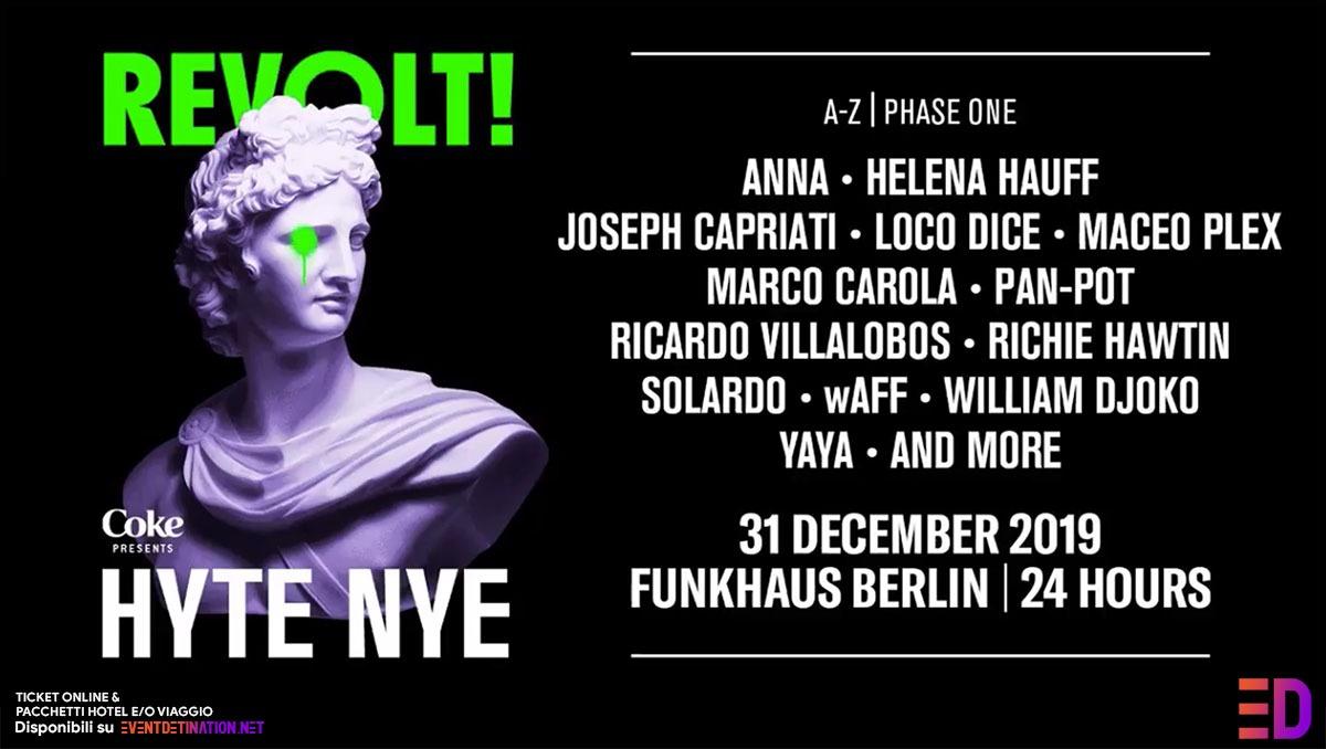 Hyte Berlin NYE 2019/2020 CAPODANNO a Berlino – Ticket Pacchetti Hotel