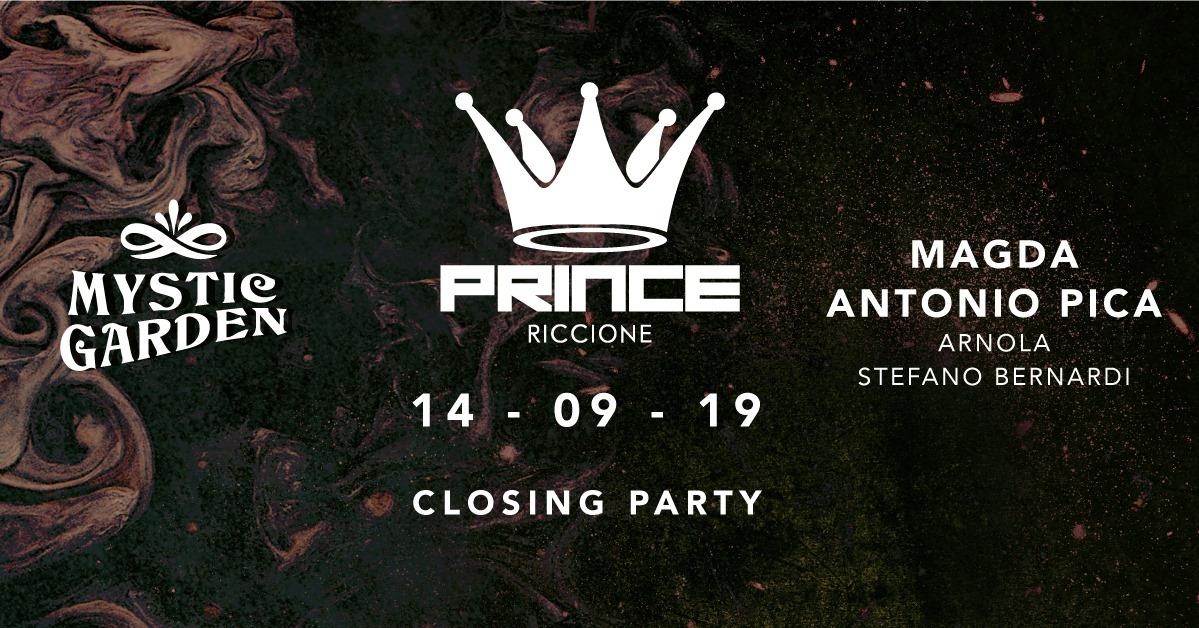prince riccione closing party 4 settembre 2019