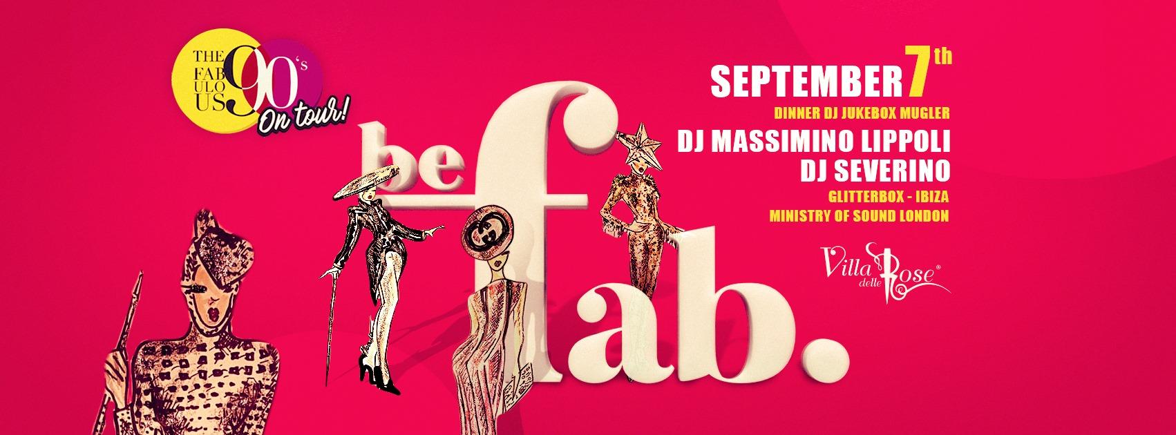 Villa Delle Rose Sabato 07 Settembre 2019 Fabulous 90's – Ticket – Biglietti 18app – Pacchetti Hotel