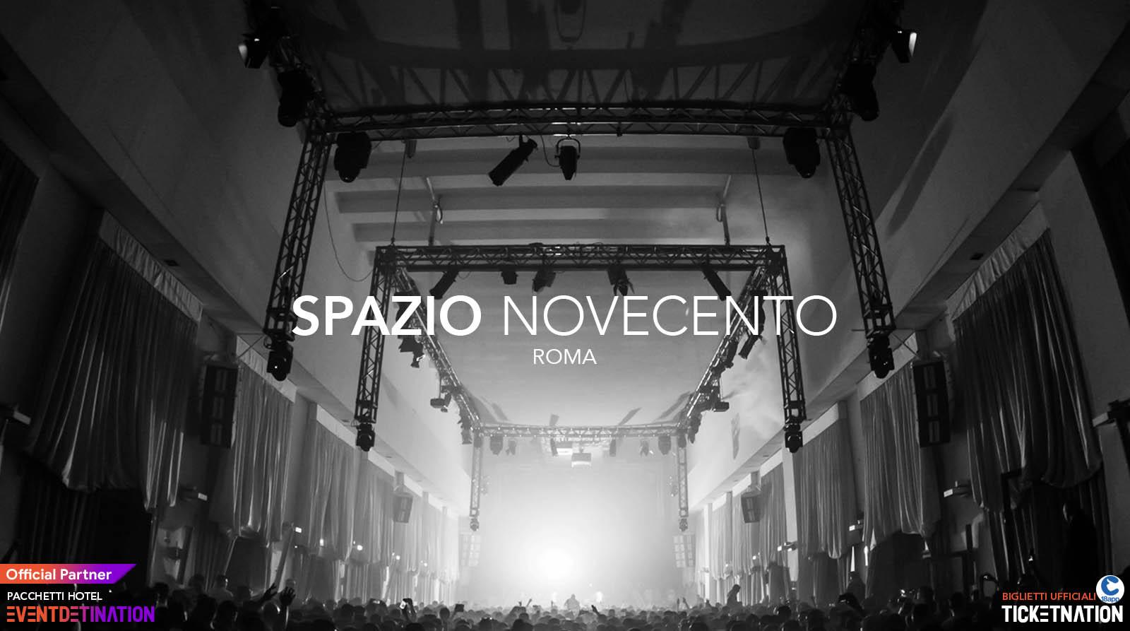 Spazio Novecento Roma – Sabato 19 10 2019 – Fatima HAJJI Rebekah – Ticket Biglietti 18App Tavoli e Pacchetti Hotel