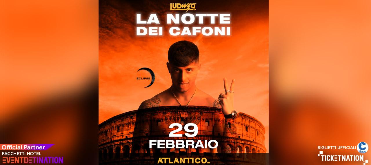 ludwig atlantico roma 29 febbraio 2020