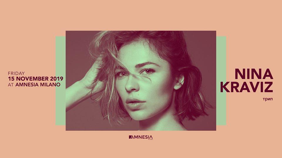 Amnesia Milano – Venerdi 15 Novembre Nina Kraviz – Ticket – pacchetti hotel