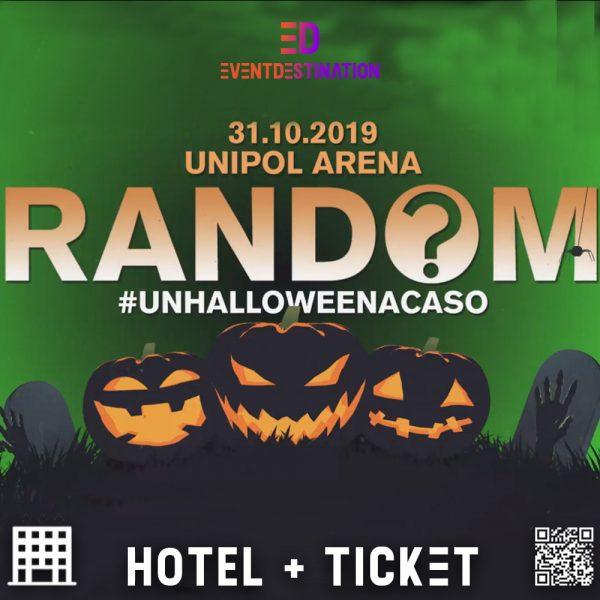 pacchetti hotel random unipol arena halloween 2019