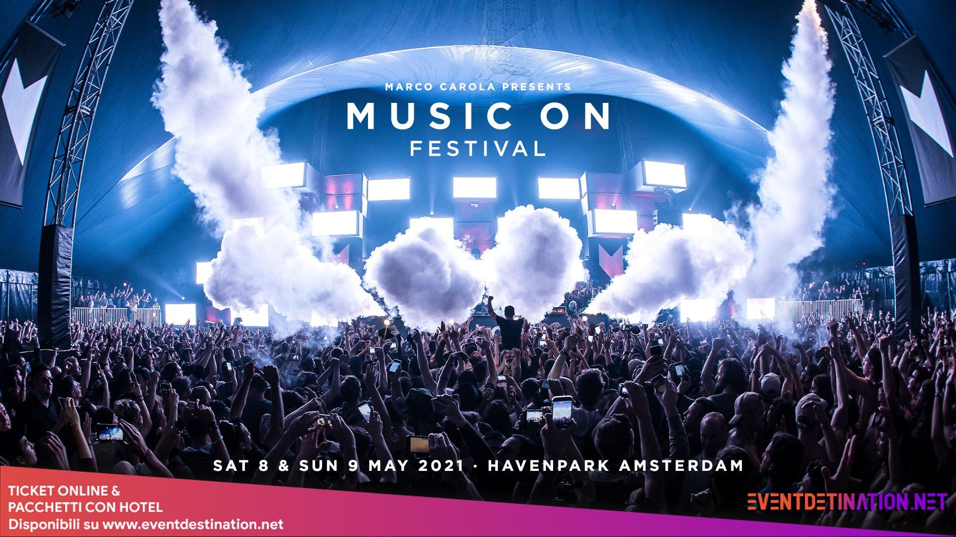 music on festival 2021 Amsterdam 8 e 9 maggio-min