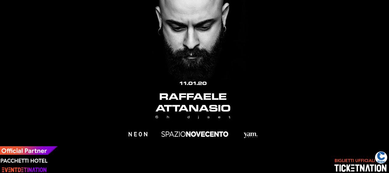 Raffaele Attansio Spazio Novecento Roma Sabato 11 01 2020 – Ticket Biglietti 18App Tavoli e Pacchetti Hotel
