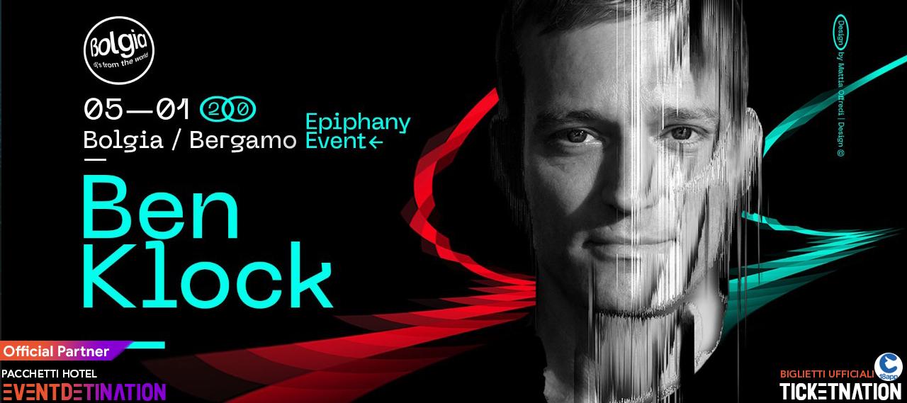 Ben Klock Bolgia Bergamo 05 01 2020 – Ticket Tavoli Biglietti 18app Pacchetti Hotel