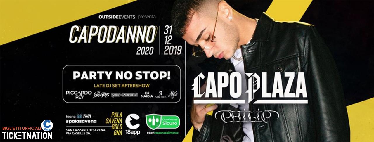 Capo Plaza al Palasavena Bologna Capodanno 2020 – Ticket Tavoli Biglietti 18app Pacchetti Hotel