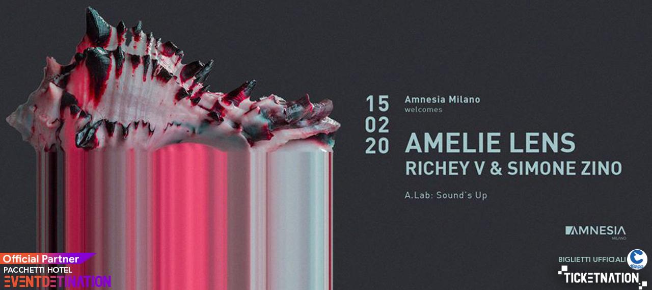 Amelie Lens at Amnesia Milano – Sabato 15 Febbraio 2020 Ticket Biglietti 18App Tavoli e Pacchetti Hotel