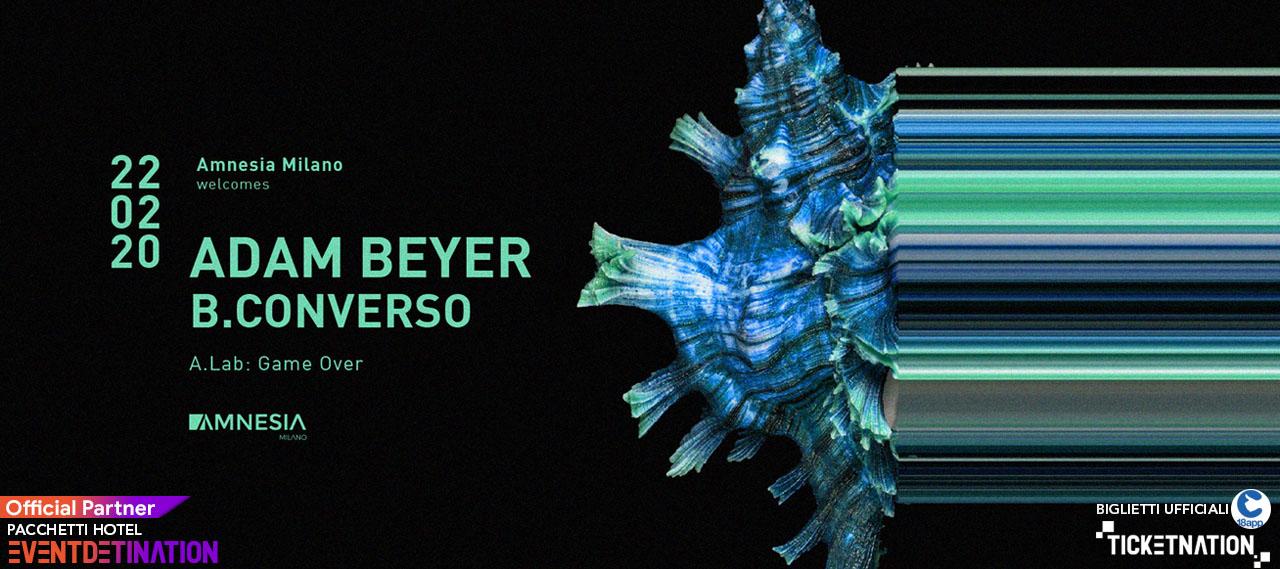 Adam Beyer Amnesia Milano – Sabato 22 Febbraio 2020 – Ticket Biglietti 18App Tavoli e Pacchetti Hotel