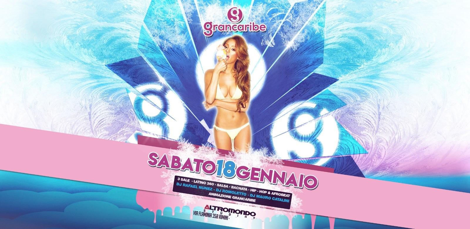 Grancaribe Altromondo Studios Rimini Sabato 18 01 2020 SIGEP RIMINI Ticket – Biglietti 18app – Tavoli e  Pacchetti Hotel