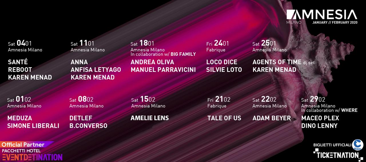 Maceo Plex  Amnesia Milano – Sabato 29 Febbraio 2020 – Ticket – pacchetti hotel