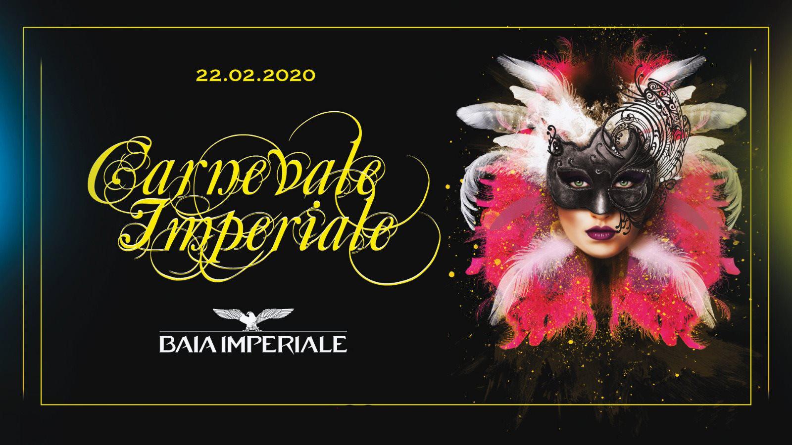 Carnevale 2020 Baia Imperiale sabato 22 Febbraio 2020 Ticket Biglietti 18App Tavoli e Pacchetti Hotel