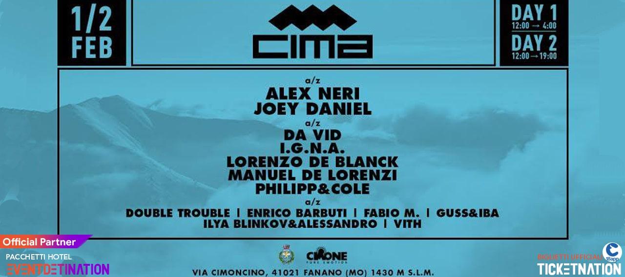 CIMA Snow Festival 2020 Sestola Fanano 1 e 2 Febbraio 2020 – Ticket e Pacchetti Hotel