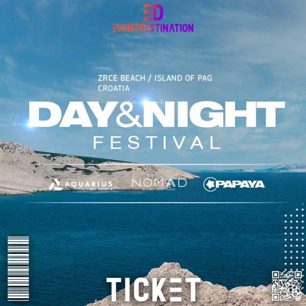 ticket DAY & NIGHT FESTIVAL ticket