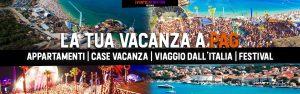 vacanZe pag NOVALJA zrce beach appartamenti CASE VACANZA LOGO
