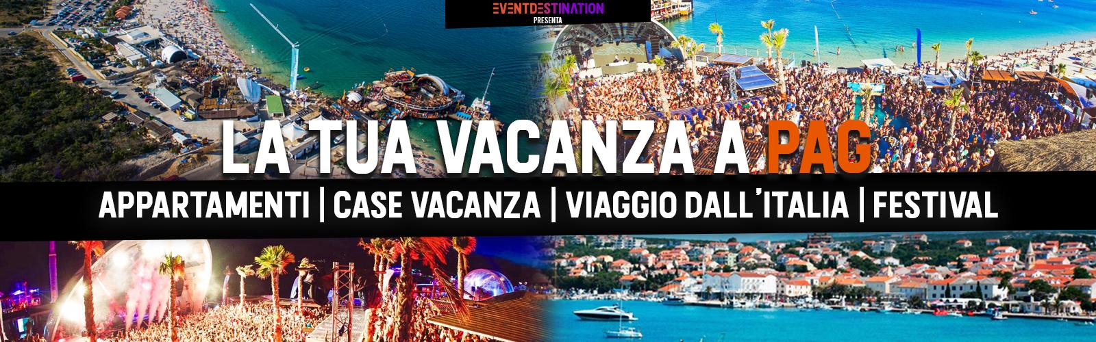 VACANZE a PAG  Estate 2020 – Appartamenti Case Vacanza Novalja + Viaggio