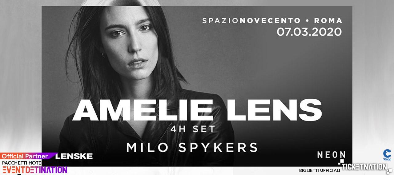 Amelie Lens Spazio 900 Novecento Roma Sabato 07 03 2020 – Ticket Biglietti 18App Tavoli e Pacchetti Hotel