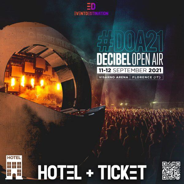 Decibel open air 2021 PACCHETTI HOTEL