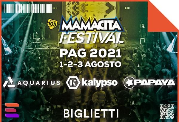 Biglietti Mamacita Festival 2021 Pag