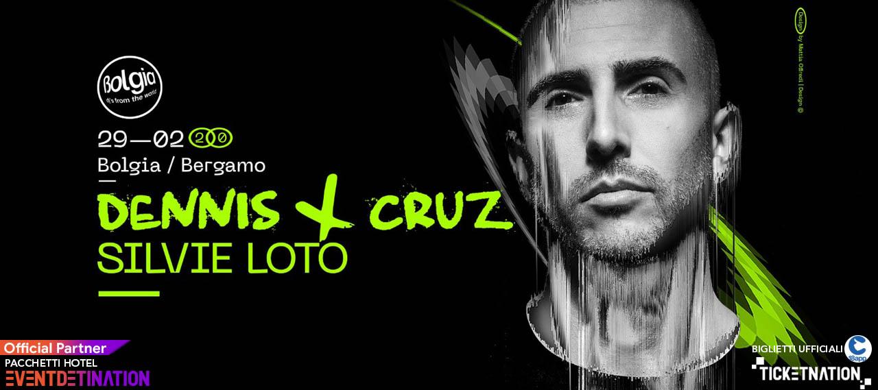 Dennis Cruz e Silvie Loto Bolgia Bergamo 29 Febbraio 2020 – Ticket Biglietti 18app Tavoli Pacchetti Hotel