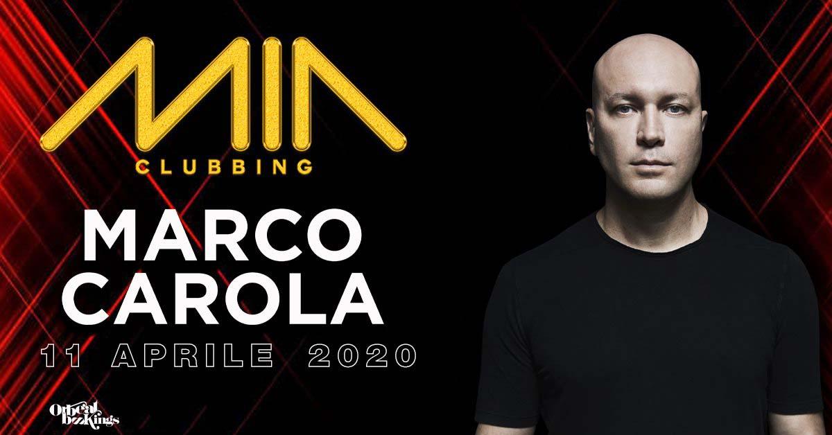 marco carola mia clubbing 11 04 2020