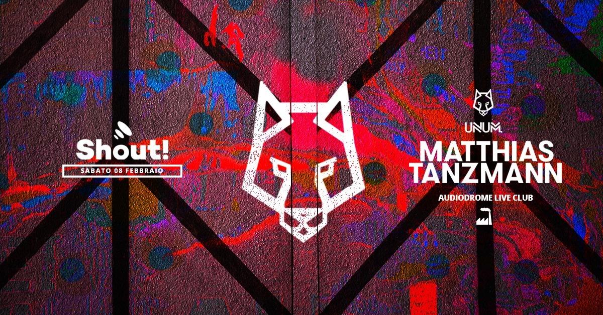 Matthias Tanzmann Audiodrome Torino 08 Febbraio 2020 – Ticket Biglietti 18app Tavoli Pacchetti Hotel