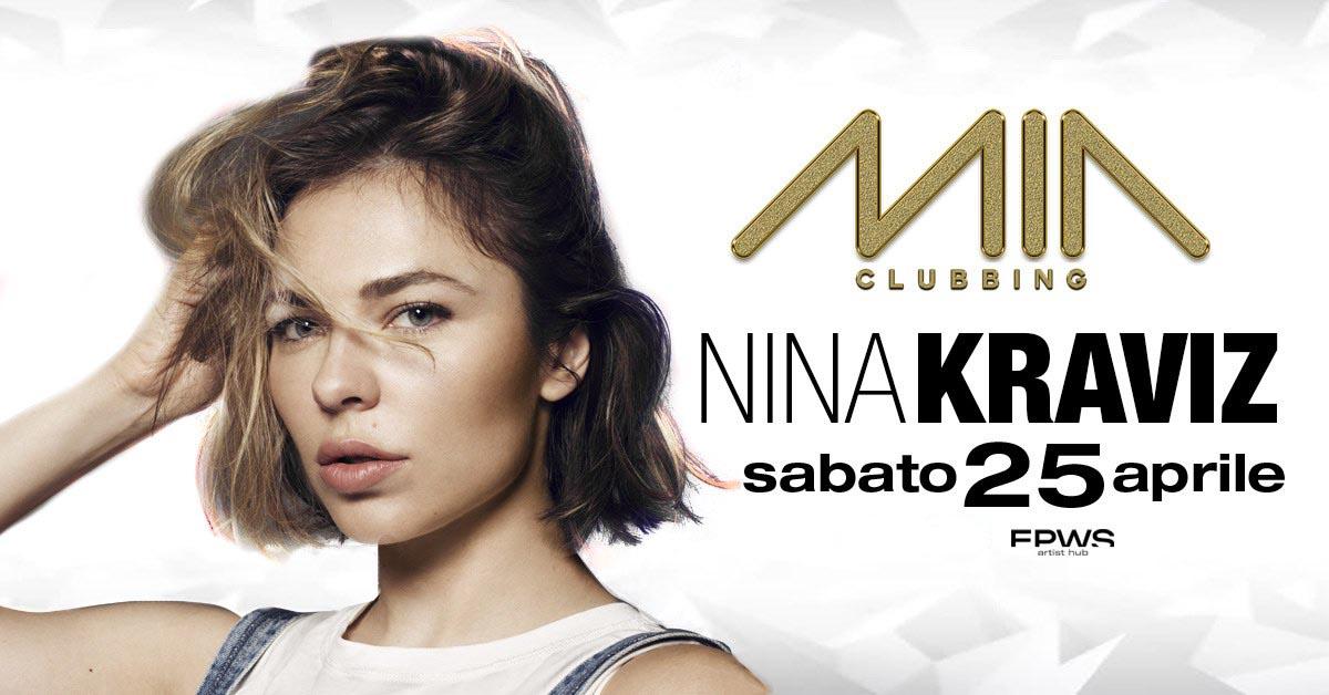 Nina Kraviz Mia Clubbing Porto Recanati 25 Aprile 2020 – Ticket Biglietti 18app Tavoli Pacchetti Hotel