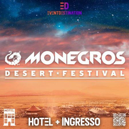 Monegros Desert Festival 2021 Pacchetti Hotel + Ticket