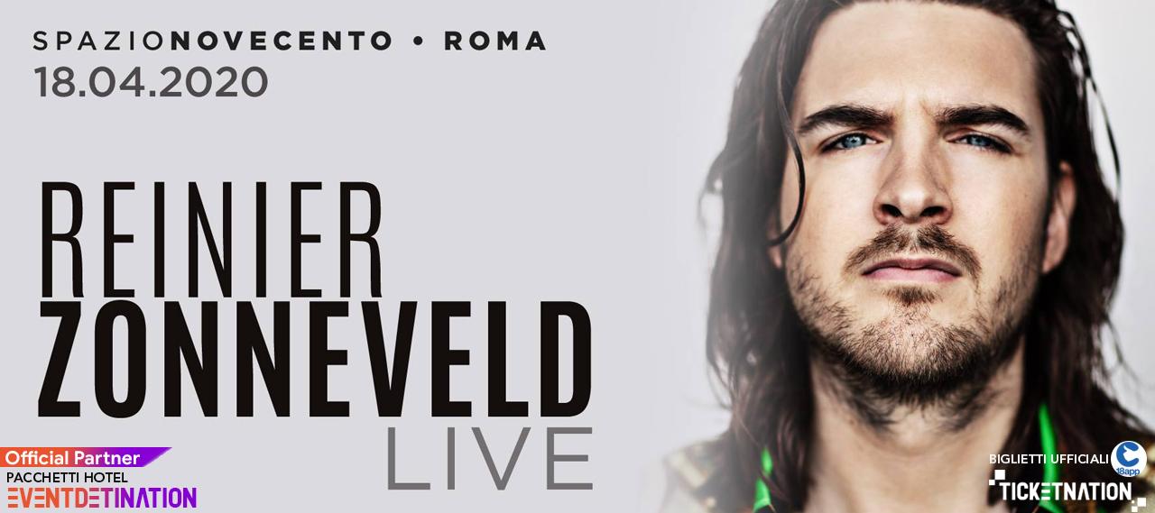 ReinIer Zonneveld Paula Temple spazio 900 novecento roma sabato 18 04 2020 ticket biglietti 18app tavoli e pacchetti hotel